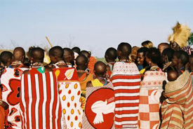 Beautiful Maasai dress