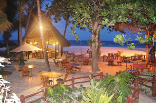 beach bar in Africa